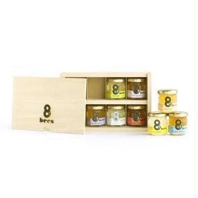 木箱+Sサイズ蜂蜜8個セット