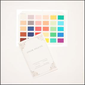 パーソナルカラーフォーシーズン別 カラー・パレット(30色)【SPRING】