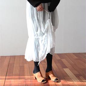 see-through string skirt