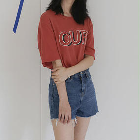 """""""OUR"""" overfit tee"""