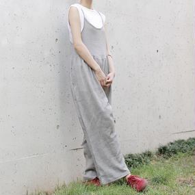 △20%off△volume gather salopette pants