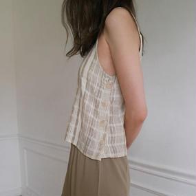 nostalgic check camisole