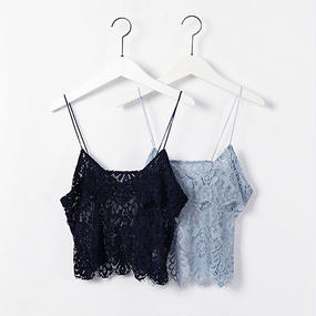 lace camisole  bustier