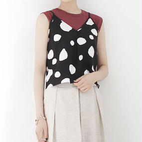 △15%off△blurred dots short camisole