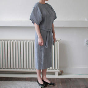 pleats design summer dress