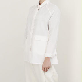 △15%OFF△Fly front minimal shirt