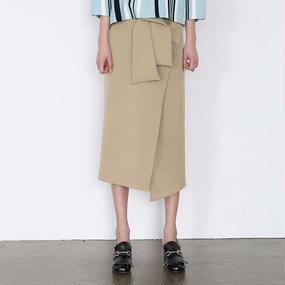 !新色追加! shirt rap midi skirt