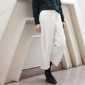 out tuck cropped pants
