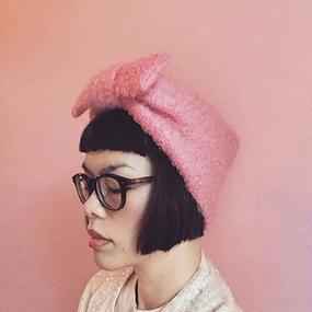 エレガントなターバン | ピンク
