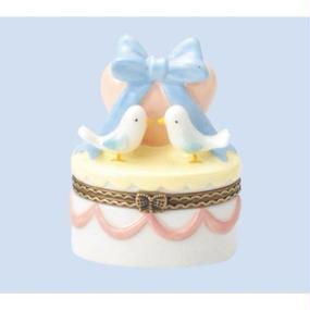 陶器のかわいい小物入れ 出産祝い 結婚祝いにもおすすめ