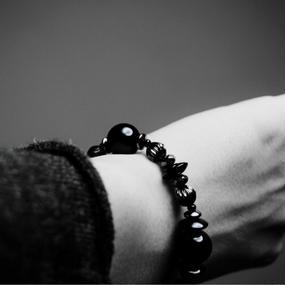 オニキス ブラス デザイン ブレス''ONYX brass design bracelet''