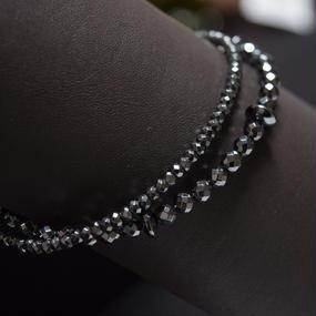 """ヘマタイト ラップ ブレス""""HEMATITE wrap bracelet"""""""