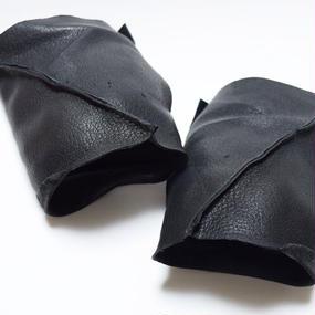 スラッシュカット レザーアームカバー''slash cut leather arm cover''