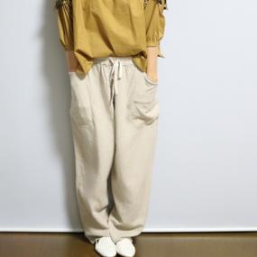 マサラパンツ【麻ベージュ】
