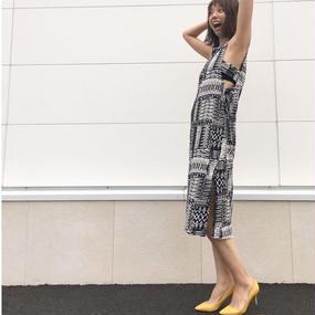 【6/27 ゴジカル!着用】A ・I・CビーチバティックPt・デザインワンピース