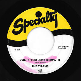 The Titans - Don't You Just Know It