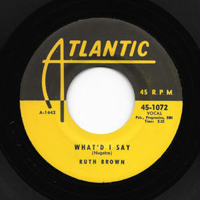 Ruth Brown - What'd I Say