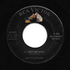 Jimmy Witherspoon - All Right Miss Moore