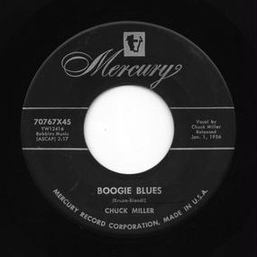 Chuck Miller - Boogie Blues