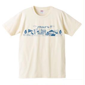 CIRCLE'16 オフィシャル T-Shirts (ナチュラル)