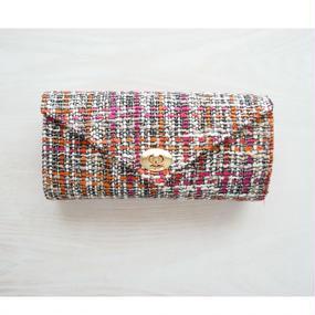 ≪受注販売≫『働くいい女』のための究極のお財布バッグ(ピンクオレンジ×ピンク)