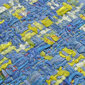 ≪受注販売≫『働く女性』のための究極のお財布バッグ(ブルー×ブルー)