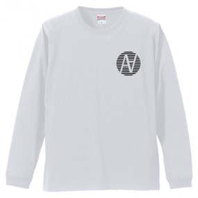 Cross L/S TEE White