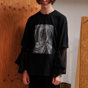 Detachable Long T-shirts/BK