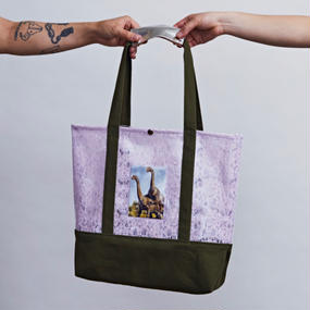 受注商品 EXCHANGEABLE PICTURE TOTE_KH