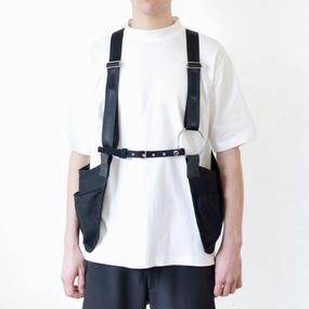 BANZAI×soon 3rd anniversary△◯ exclusive vest_BK