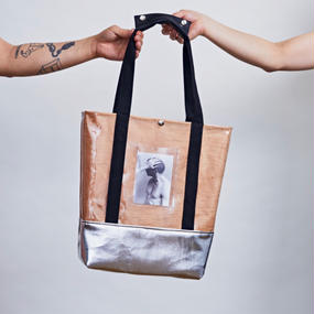 受注商品 REAL WOOD TOTE BAG