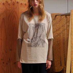 Detachable Long T-shirts/BG×BK
