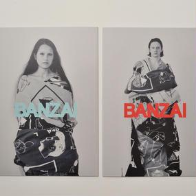 BANZAI /YORUKO BANZAI ART BOOK #1