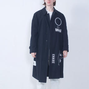 BANZAI ARCHIVE GRAPHIC COAT_BK (LIMITED EDITION)