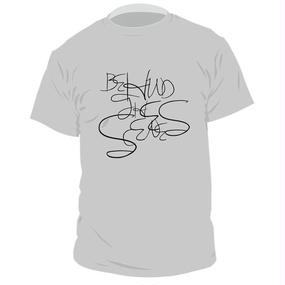Behind the scenes Original Logo T-shirts〈Gray〉