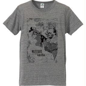 "Jazz Giants Series ""Miles Davis"" T-shirts〈Gray〉"