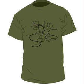 Behind the scenes Original Logo T-shirts〈Army Green〉