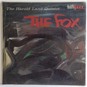 完オリ MONO 深溝 US盤 HAROLD LAND The fox ELMO HOPE 参加