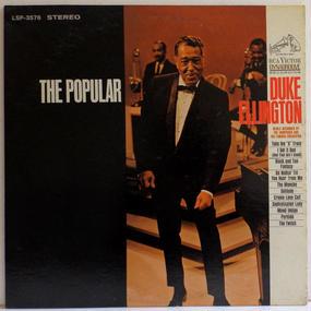 完オリ 名作です!! 深溝 名曲 DUKE ELLINGTON The popular US盤