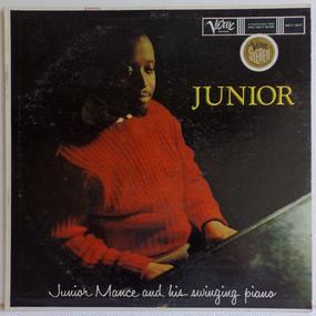両面 深溝 US盤  JUNIOR MANCE Junior VERVE 名作