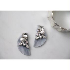gray marble bijou star☆