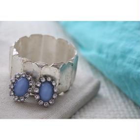 simple bleu  bijou