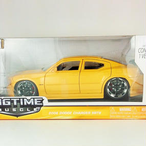 【Jada BIGTIME MUSCLE】 2006 DODGE CHARGER SRT8