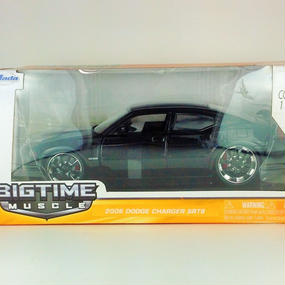 【Jada BIGTIME MUSCLE 】2006 DODGE CHARGER STR