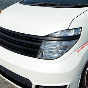 【Nissan Elgrand E51 (Late Model)】Spread E51後期 エアロボンネット