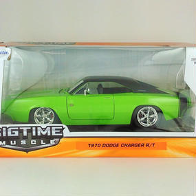 【Jada BIGTIME MUSCLE 】1970 DODGE CHARGER R/T