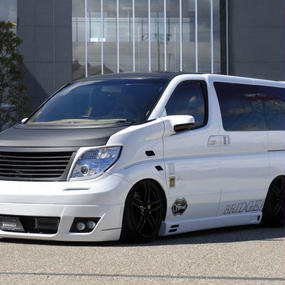 【Nissan Elgrand E51 (Late Model)】Spread E51後期 エアロ4点セット