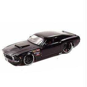 【JADA BIGTIME MUSCLE】1970 FORD MUSTANG BOSS 429 (ブラックカラー 1:24スケール )
