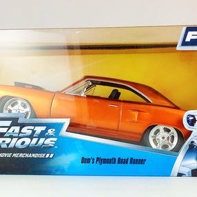 【Jada FURIOUS7 FAST&FURIOUS 】Letty's Plymouth Road Runner