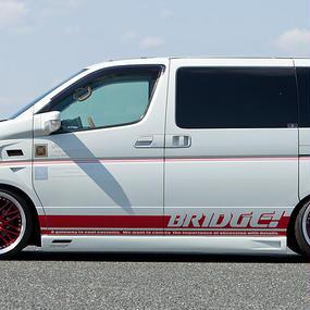 【Nissan Elgrand E51 (Early Model)】Spread E51前期 ドアパネル(ハイウェスター用)
